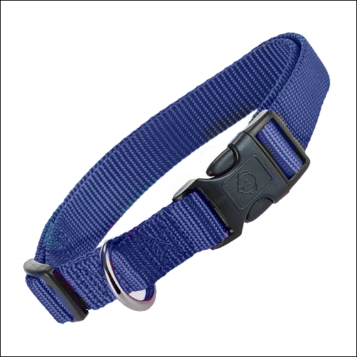 Verstellbares Halsband »Basic« - BLAU