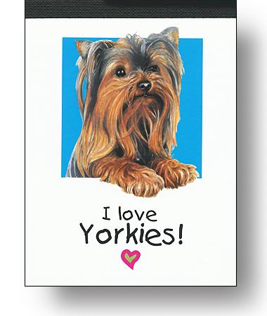 Notizblock »Yorkie«