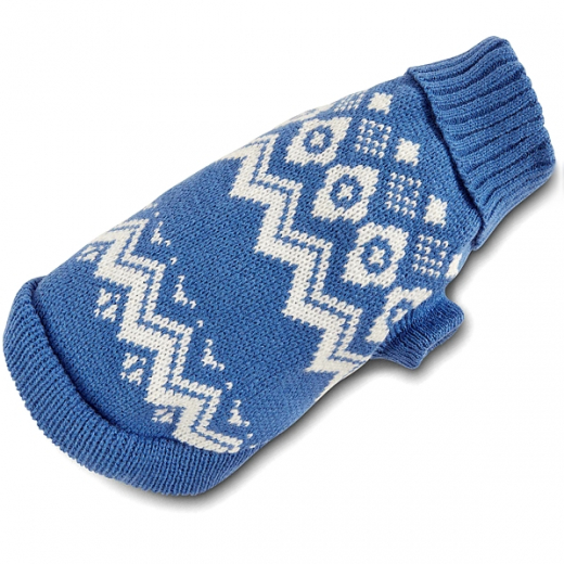 Yorkie-Strickpulli »Norway« - Blau