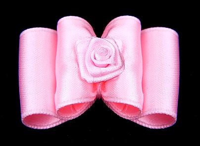 Satin-Haarspange »Beauty Rosé«