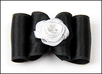 Satin-Haarspange »White Rose Exclusiv«