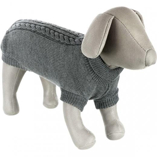 Kleinhunde-Pulli »Dolomiti« - Platingrau