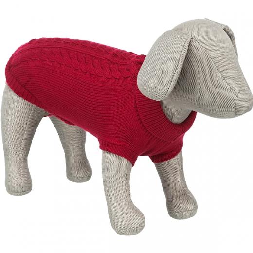 Kleinhunde-Pulli »Dolomiti« - Yorkie-Rot