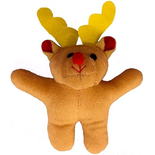 Yorkies Weihnachts-Elch