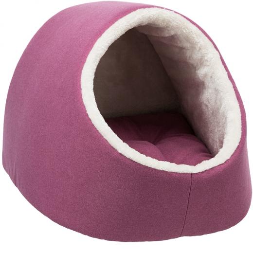 Kleinhunde-Kuschelhöhle »Milano« - Pink