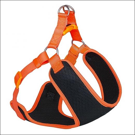 Kleinhundegeschirr »Mesh« - Orange