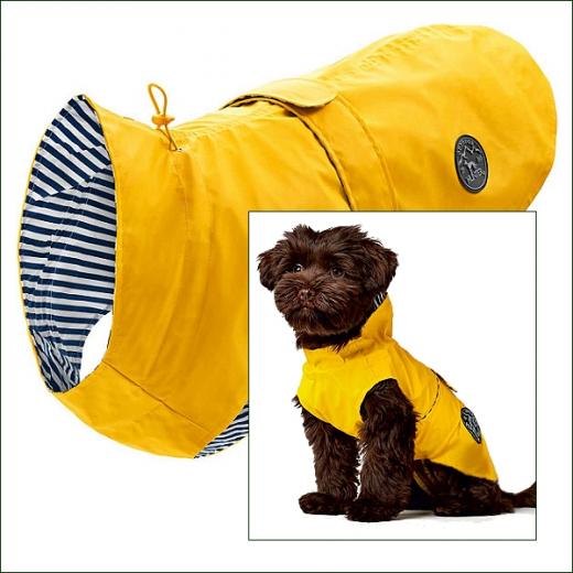 Kleinhunde-Regenmäntelchen »Norderney« - Yellow