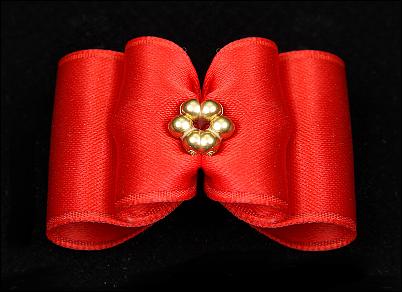 Yorkie-Schleife »Perla Red«