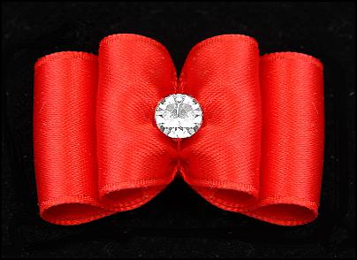 Yorkie-Schleife »Hot Red«
