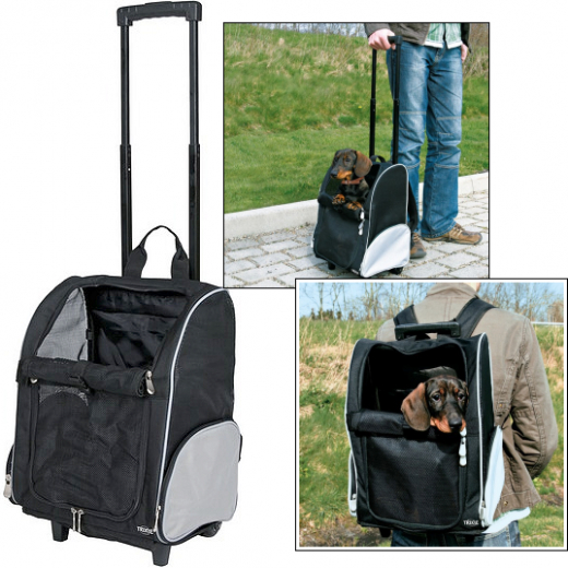 Kleinhunde-Trolley & Rucksack »Tour-on«