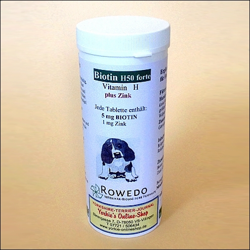 H50 Biotin Forte »Plus« - in Tablettenform