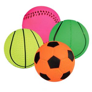 Spielbälle aus Moosgummi