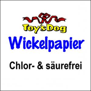 ToysDog Wickel-Papier »White«