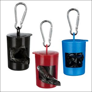 Unverzichtbar: Kotbeutel-Behälter zum Gassigehen »1«