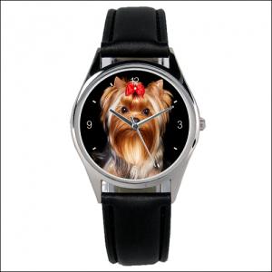 Ein ideales Geschenk: »Yorkie-Uhr«