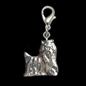 Halsband-/Schlüsselbund-Schmuckanhänger »Yorkie«