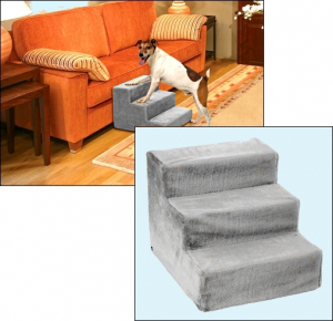 Kleinhunde-»Sofa-Treppchen« - Grey