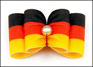 Stoffschleife »Germany«