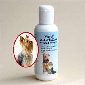 Anti-Floh-Zeck Schutz-Shampoo von »Vetyl«