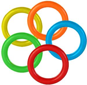 Spiel-Ring aus Vollgummi