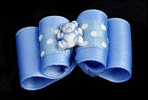 Baby & Youngster-Schleife »Bärchen Blue«